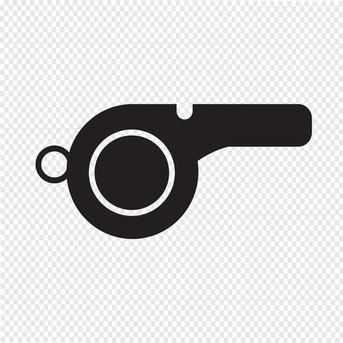 Whistle Icon  symbol sign