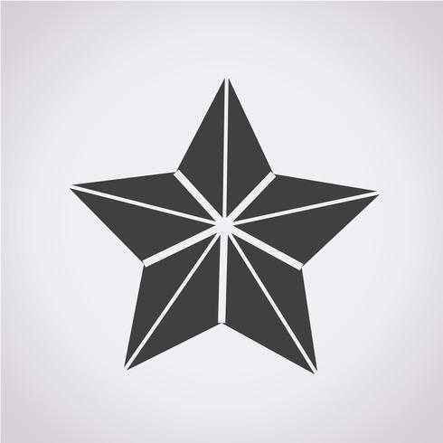 Segno simbolo icona stella