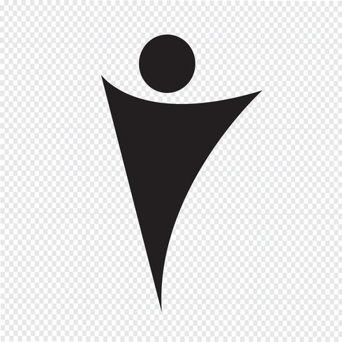 icono de personas símbolo signo vector
