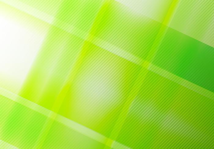 Brillo geométrico de la naturaleza verde abstracta y elementos de la capa con textura diagonal de las líneas. vector