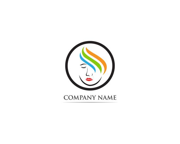 Vetores de logotipo de salão de beleza