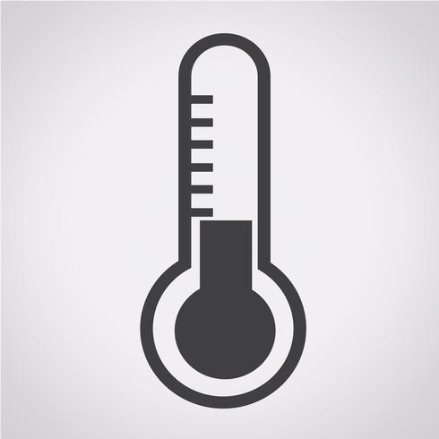 Termometro icona simbolo segno