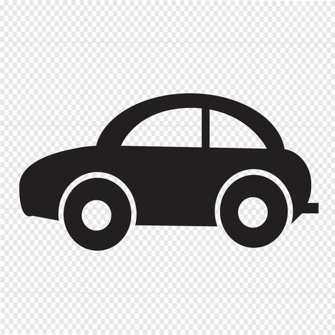 Auto pictogram symbool teken