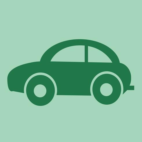 Icono de coche símbolo de signo