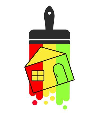 Lodge. Icona vettoriale Un semplice simbolo piatto. vettore