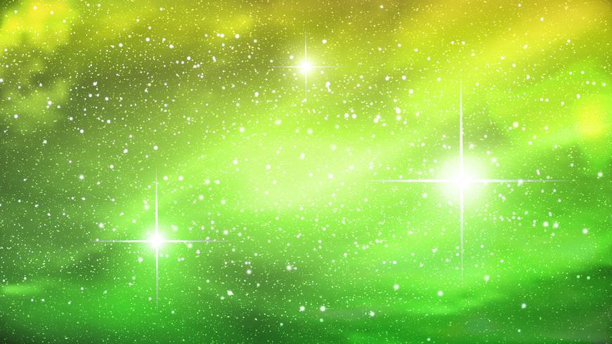Nebulosa colorida no fundo do espaço. Ilustração vetorial