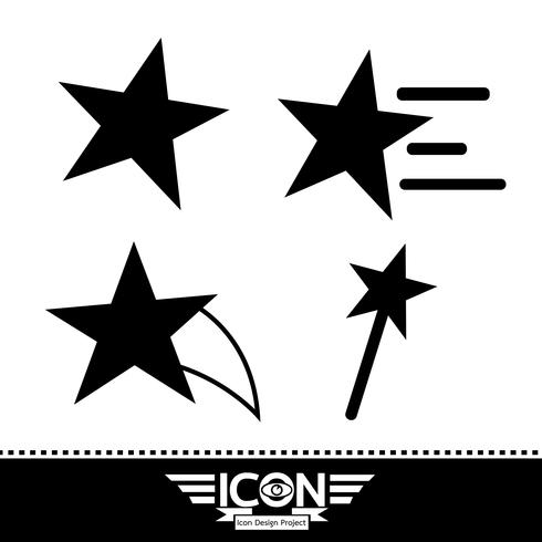 ícone de estrela sinal de símbolo