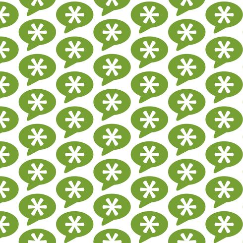 Pattern background Asterisk Footnote sign icon vector
