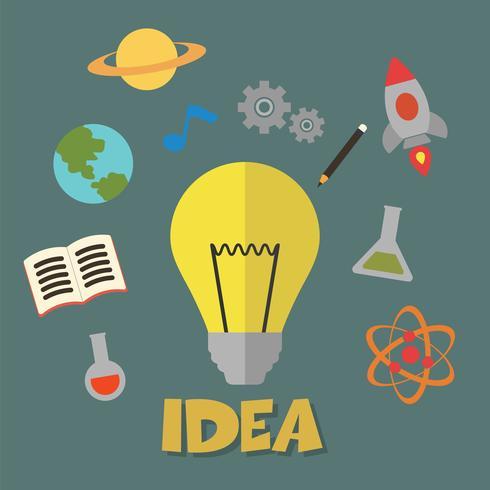 idea concetto vettoriale
