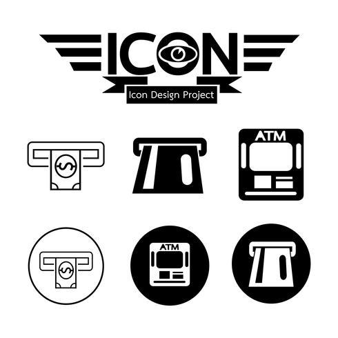 Segno simbolo icona Atm