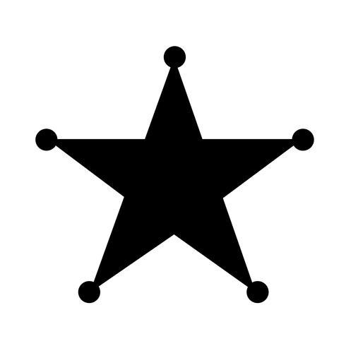 Estrela, símbolo, sinal símbolo