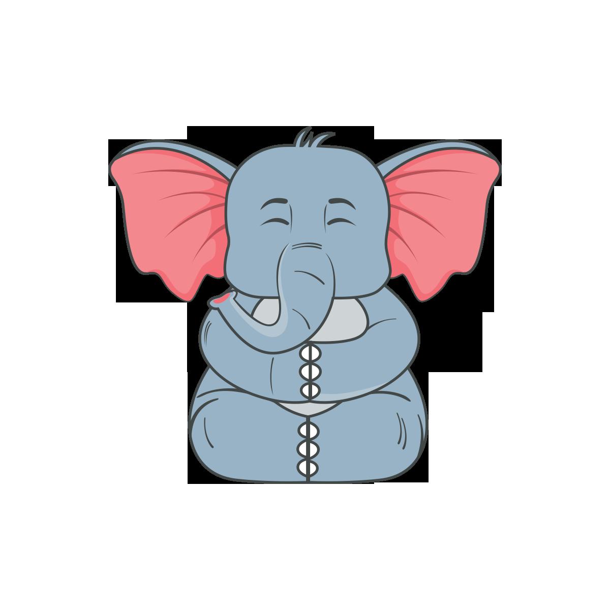 Ilustracao De Elefante Png Vector Minima Download Vetores Gratis
