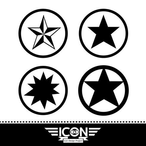icono estrella signo símbolo