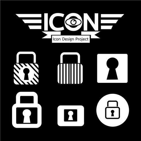 Lock Icona simbolo