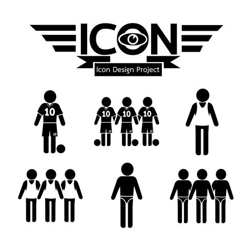 persone simbolo icona segno