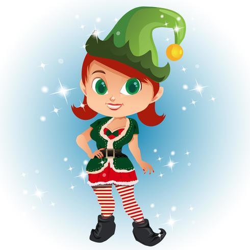 avatar tecknad med elva kostym