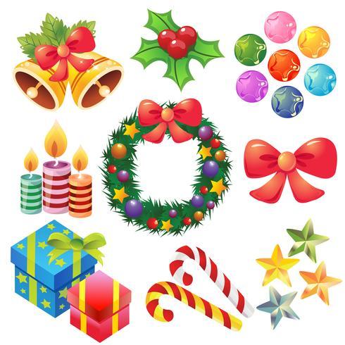 Kerst pictogramserie