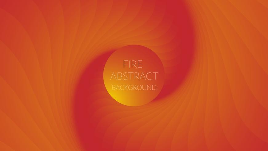 Fire color combination abstract background vector
