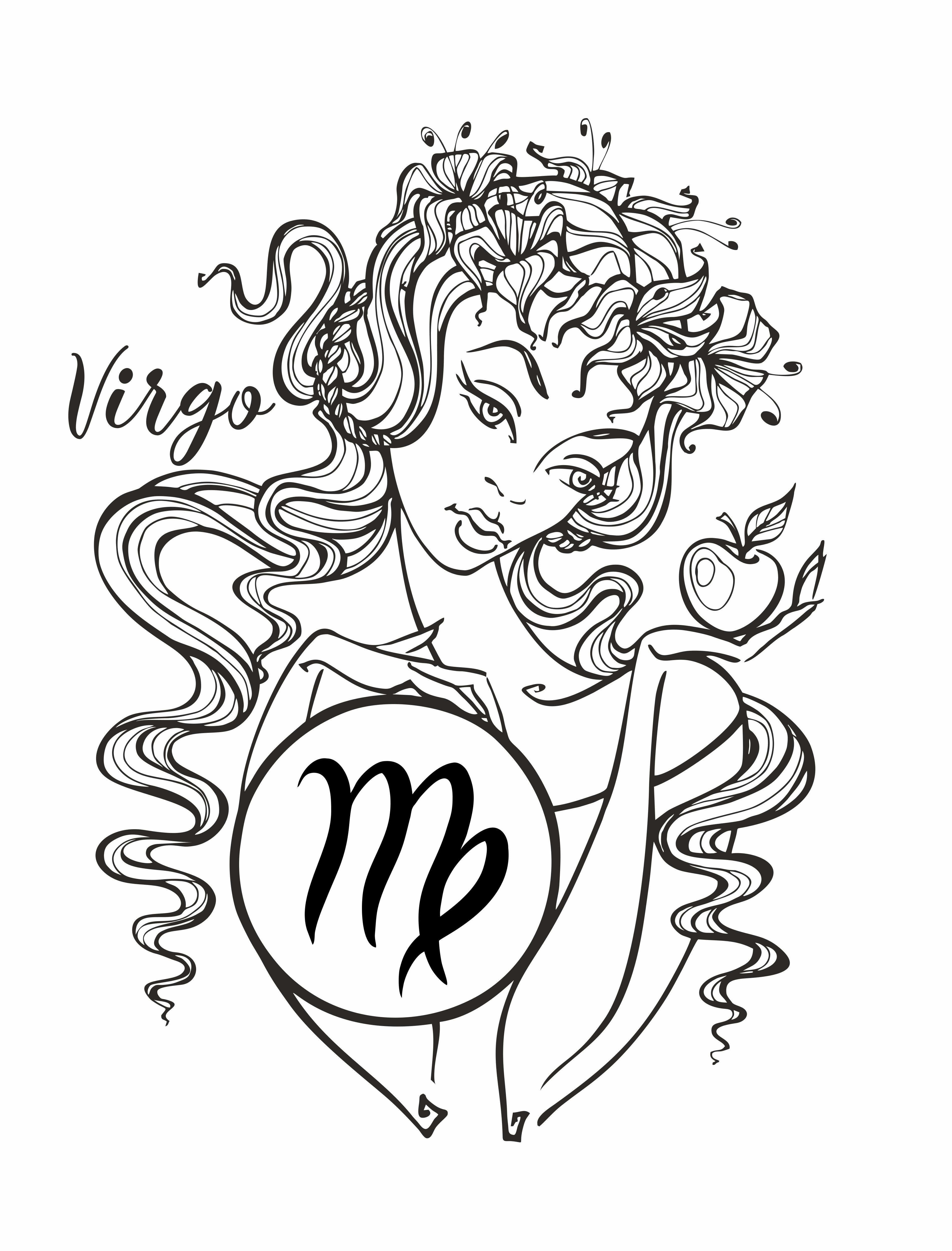 zodiac sign virgo a beautiful horoscope astrology