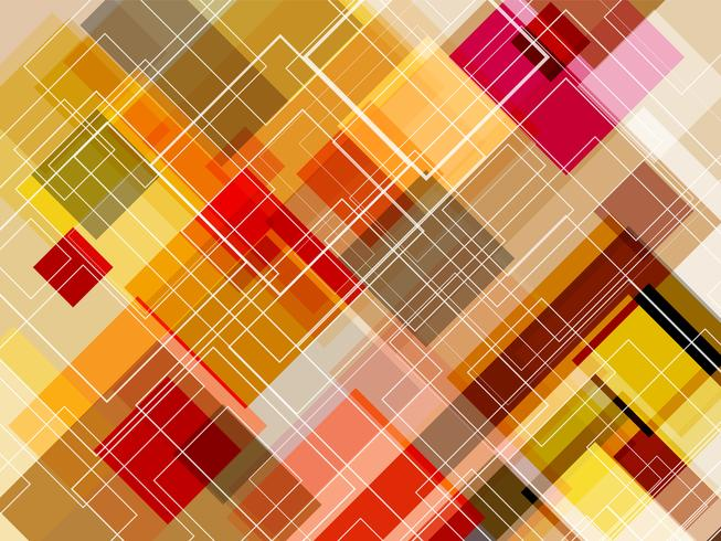 Diagonal square layer with abstract background.