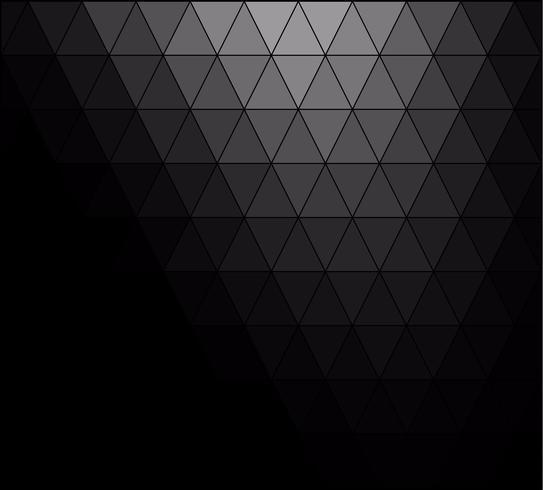 Fondo de mosaico de cuadrícula de color negro, plantillas de diseño creativo