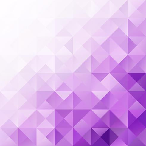 Fundo de mosaico de grade roxo, modelos de Design criativo