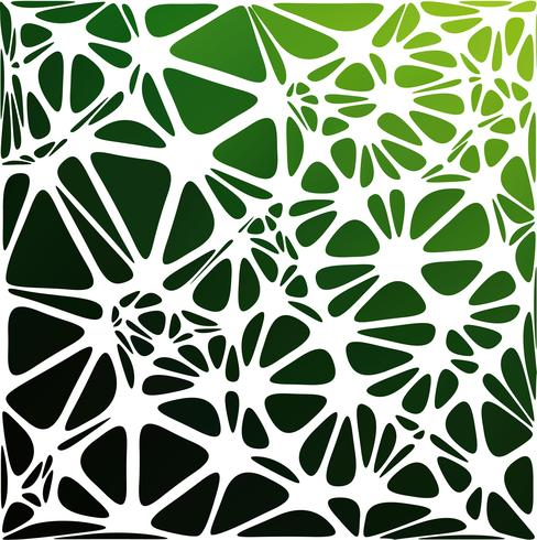Groene moderne stijl, creatieve ontwerpsjablonen