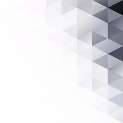 Black Grid Mosaic bakgrund, kreativa design mallar