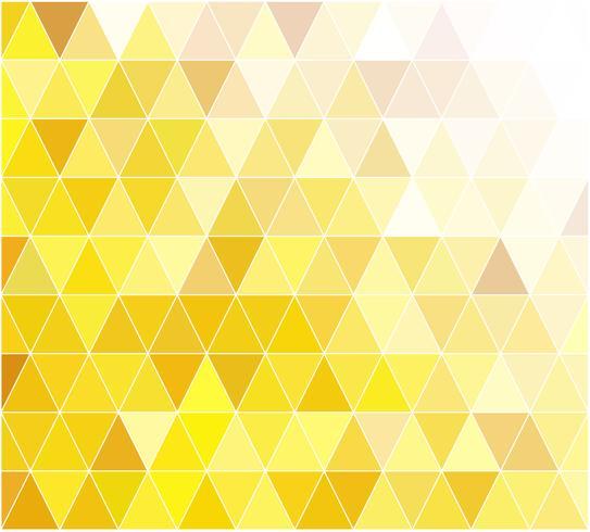 Fundo de mosaico de grade amarelo, modelos de Design criativo