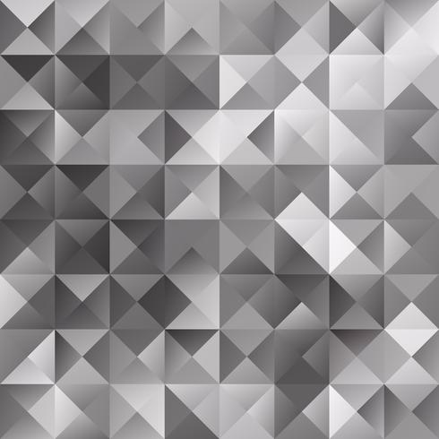 Fundo de mosaico de grade preta, modelos de Design criativo