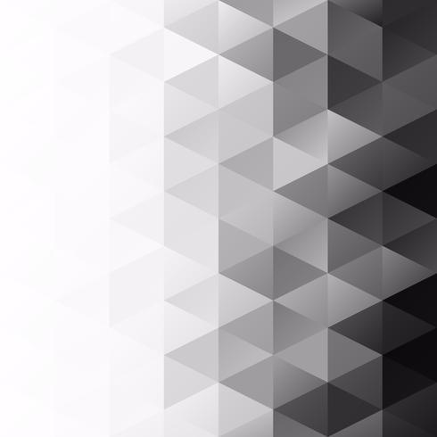 Fond de mosaïque de grille noire, modèles de conception créative