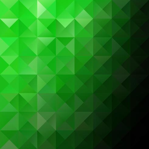 Fundo de mosaico de grade verde, modelos de Design criativo