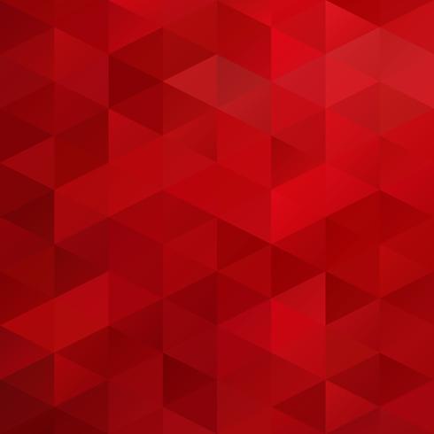 Fondo de mosaico de rejilla roja, plantillas de diseño creativo