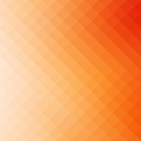 Orange Square Grid Mosaic Background, Creative Design Templates