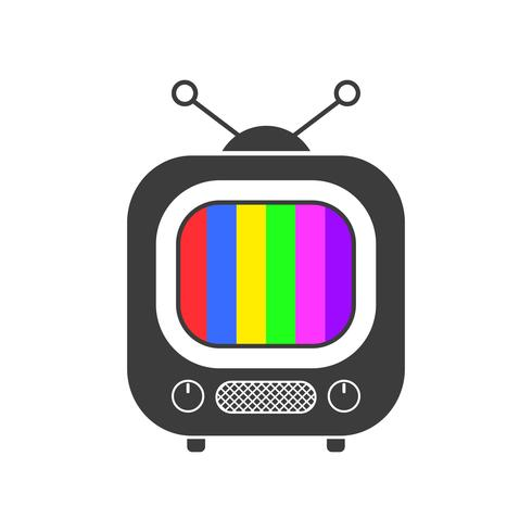 Tv Icon, Symbol, Design, Vector Ready For Your Design, Greeting Card