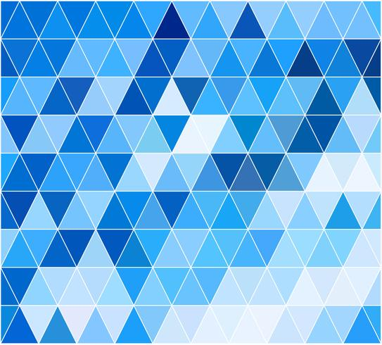 Blue Grid Mosaic Background, Creative Design Templates vector