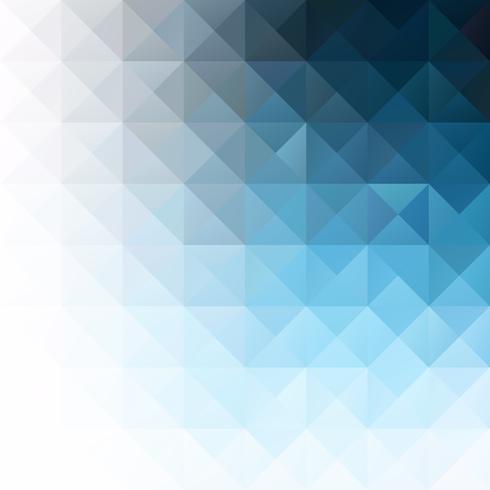 Priorità bassa del mosaico di griglia blu, modelli di design creativo