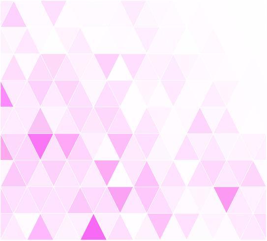 Fondo mosaico de rejilla rosa, plantillas de diseño creativo vector