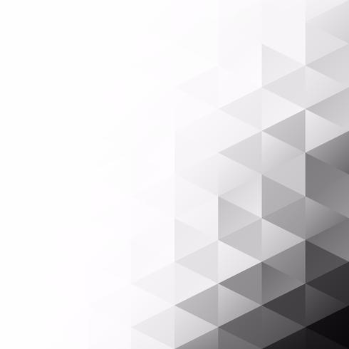 Priorità bassa del mosaico di griglia nera, modelli di design creativo
