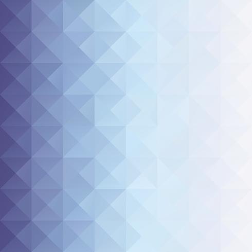 Fondo de mosaico de cuadrícula azul, plantillas de diseño creativo vector