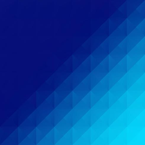 Fond de mosaïque grille bleue, modèles de conception créative