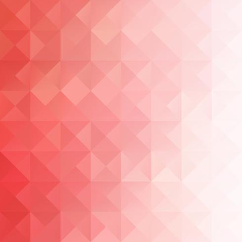 Fond de mosaïque de grille rouge, modèles de conception créative