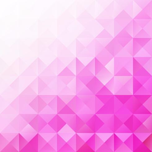 Fond de mosaïque de grille rose, modèles de conception créative