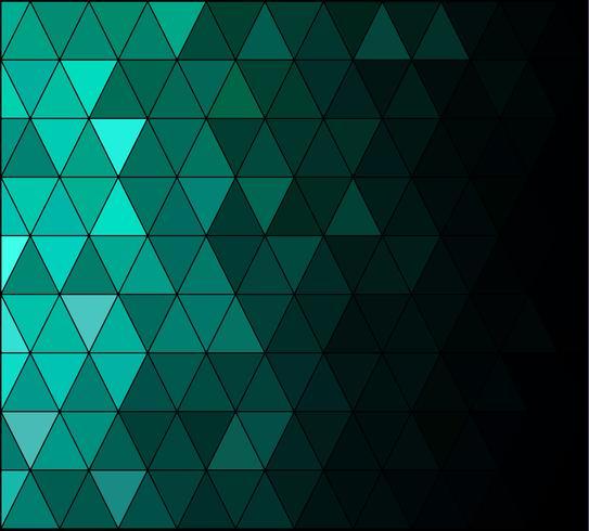 Green Square Grid Mosaic Background, Creative Design Templates