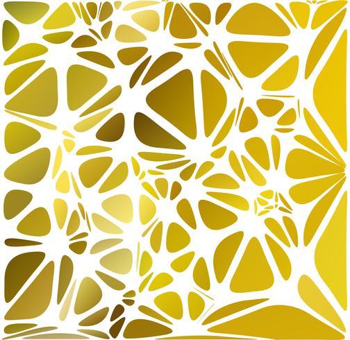 Stile moderno giallo, modelli di design creativo
