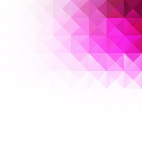Fond de mosaïque grille violette, modèles de conception créative