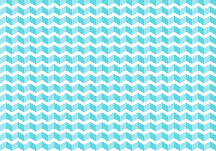 Abstract blue chevron tiles pattern on white background and texture. zigzag. vector