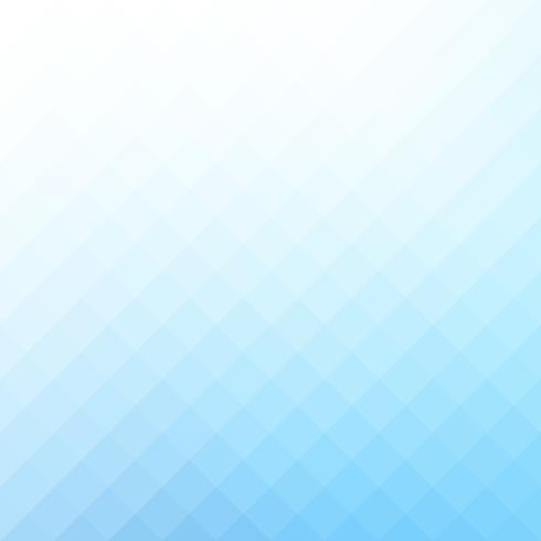 Fond de mosaïque de grille carrée bleue, modèles de conception créative