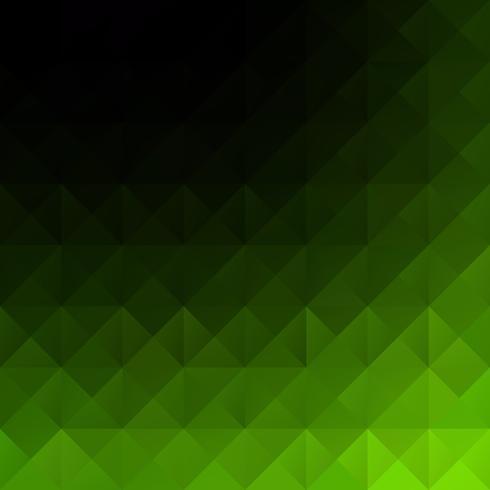 Fond de mosaïque de grille verte, modèles de conception créative