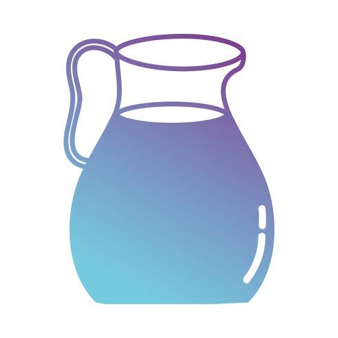 silhuett läcker juice burk näring dryck
